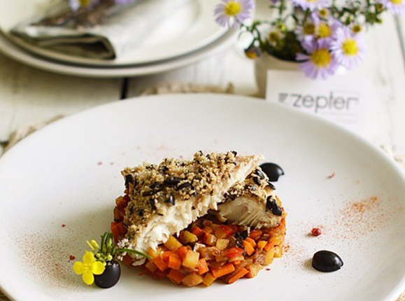 Zepter-рецепт: Рыба с овощами