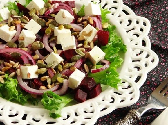 Zepter рецепт: салат из свеклы и феты